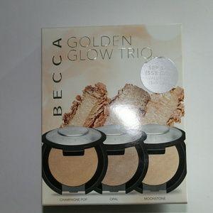 Becca Golden Glow Highlighter Trio